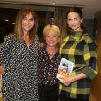 Exclusif - Christine Janin, Anna Veronique El Baze et Frederique Bel lors du lancement du livre de Christine Janin et Anna Veronique El Baze 'Dame de Pics et Femme de Coeur', à l'hôtel Mandarin Oriental, à Paris, France, le 09 Octobre 2017.