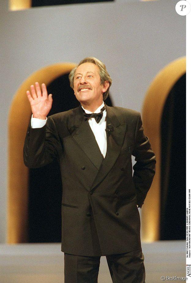 Jean Rochefort lors des César 1999