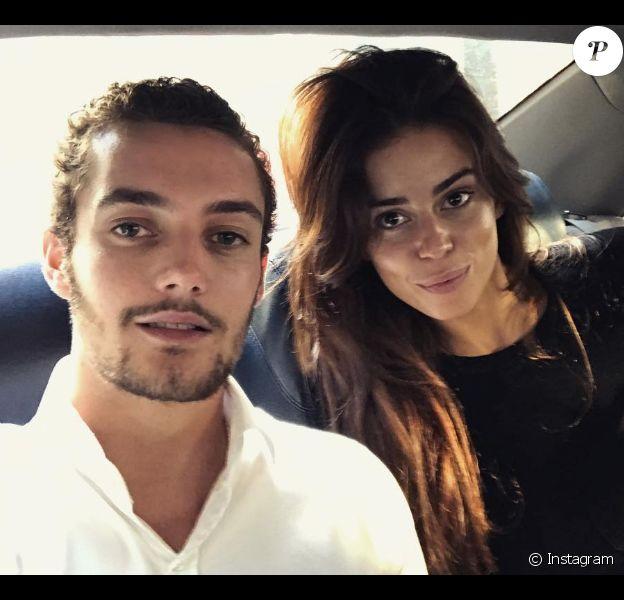 Louis Sarkozy et sa chérie Natali Husic sur une photo publiée sur Instagram le 16 septembre 2017