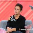 """""""Faustine Bollaert dans """"Ça commence aujourd'hui"""" sur France 2, le 28 septembre 2017."""""""