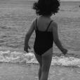 """""""Faustine Bollaert dévoile sa petite Abbie (4 ans) le 18 juillet 2017."""""""
