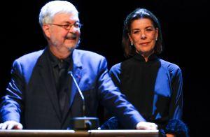 Caroline de Hanovre et Zabou Breitman, duo chic pour le sacre de Michel Tremblay