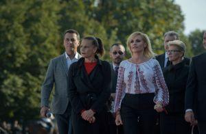 Stéphanie de Monaco : Radieuse à Bucarest pour un bel hommage à son père Rainier