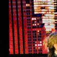 Semi-exclusif - Christelle Chollet et Michel Drucker - Inauguration du théâtre de la Tour Eiffel à Paris le 16 octobre 2017. © Coadic Guirec/Bestimage