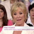 """Joanna Kerns évoque sa double mastectomie dans l'émission ""Megyn Kelly Today"" sur NBC, lundi 16 octobre 2017."""