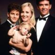 """""""Joanna Kerns et Alan Thicke dans """"Quoi de neuf docteur ?"""", 1985 - 1992."""""""