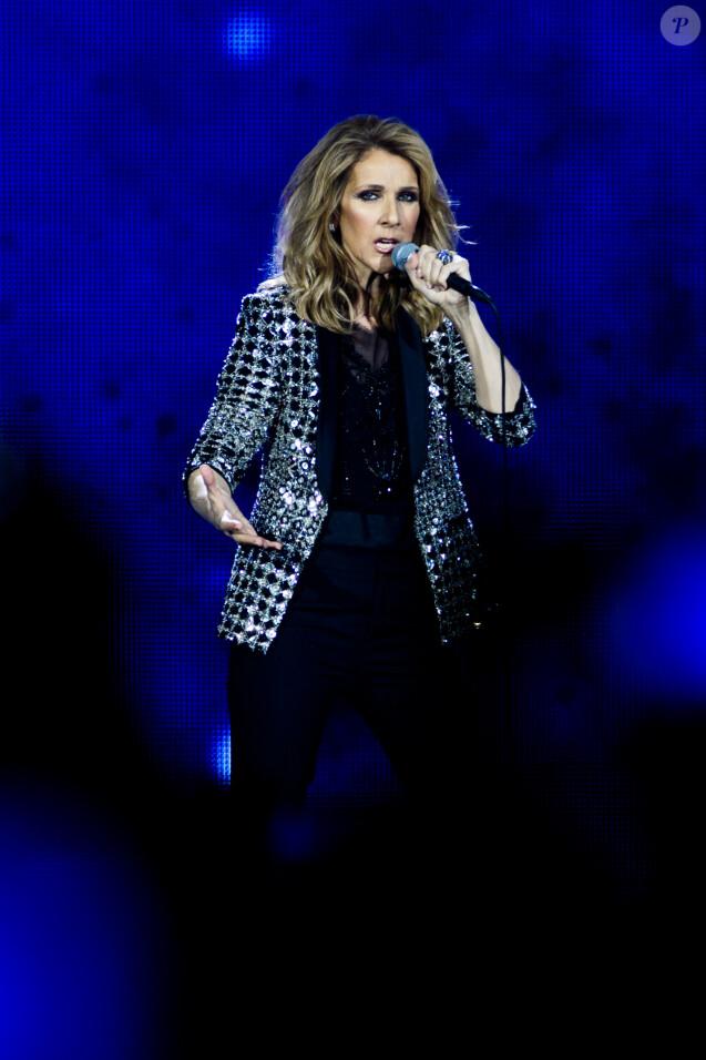 Concert de la diva Céline Dion à Berlin le 23 juillet 2017