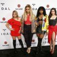 "Fifth Harmony (Ally Brooke, Normani Kordei, Dinah Jane et Lauren Jauregui) - Concert ""TIDAL X Brooklyn"" au Barclays Center à Brooklyn, New York, le 17 octobre 2017. © Charles Guerin/Bestimage"