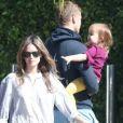 Exclusif - Rachel Bilson et Hayden Christensen, séparés depuis quelques semaines, se retrouvent pour la garde de leur fille Briar Rose à Los Angeles, le 11 octobre 2017
