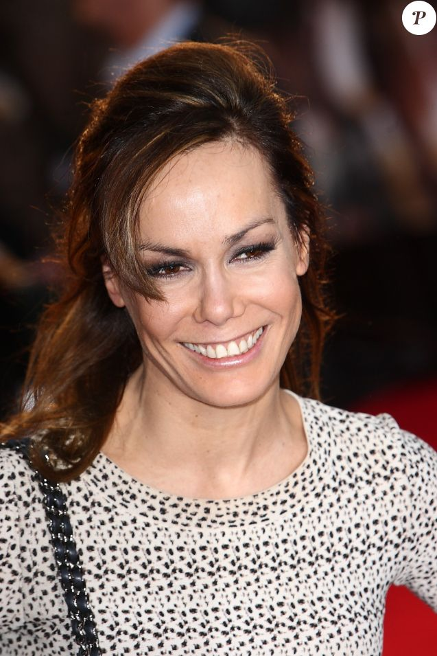 """Tara Palmer-Tomkinson - Première de """"The Lucky One"""" à Londres le 23 avril 2012."""