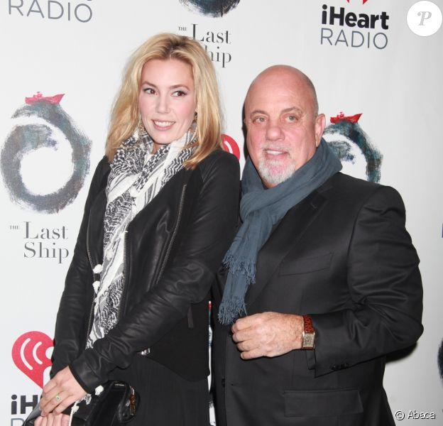 Billy Joel et Alexis Roderick à New York, le 26 octobre 2014.
