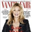 Kate Moss en couverture de Vanity Fair France. Numéro d'avril 2017. Photo par Terry Richardson.