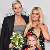 Charlène de Monaco : Accueil fleuri de Jessica Simpson et sa fille à Los Angeles