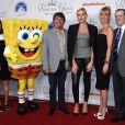 La princesse Charlene de Monaco et toute l'équipe de Bob l'éponge à la soirée Princess Grace Awards au Paramount Studios à Los Angeles, le 24 octobre 2017 © Chris Delmas/Bestimage