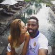 La bombe Ariane Brodier et Fulgence Ouedraogo en vacances à Bali, la dernière semaine de Juillet 2016.