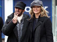 Ringo Starr et Barbara Bach : petite séance shopping en amoureux