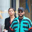 Selena Gomez et son compagnon The Weeknd sont allés faire du shopping à New York le 3 septembre 2017.