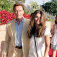 Arnold Schwarzenegger et Maria Shriver - MATCH DES LA GALAXY CONTRE CHELSEA AU HOME DEPOT CENTER DE CARSON EN CALIFORNIE le 21 juillet 2007