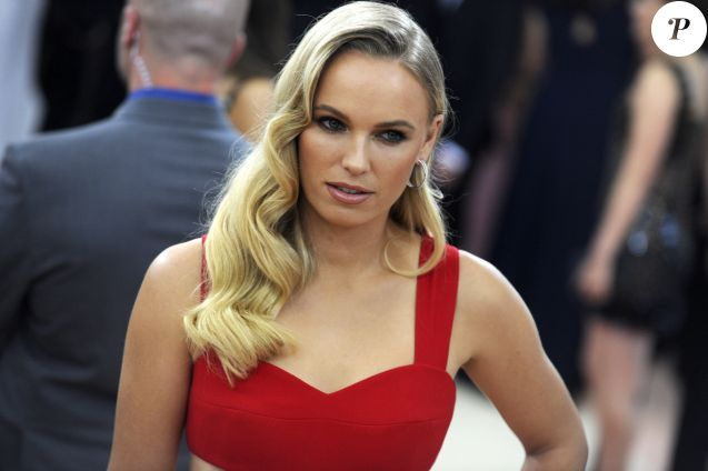 "Caroline Wozniacki - Soirée Costume Institute Benefit Gala 2016 (Met Ball) sur le thème de ""Manus x Machina"" au Metropolitan Museum of Art à New York, le 2 mai 2016. © Future-Image via ZUMA Wire/Bestimage"