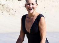 Sharon Stone, 59 ans : Une star nature sur une plage de Malibu