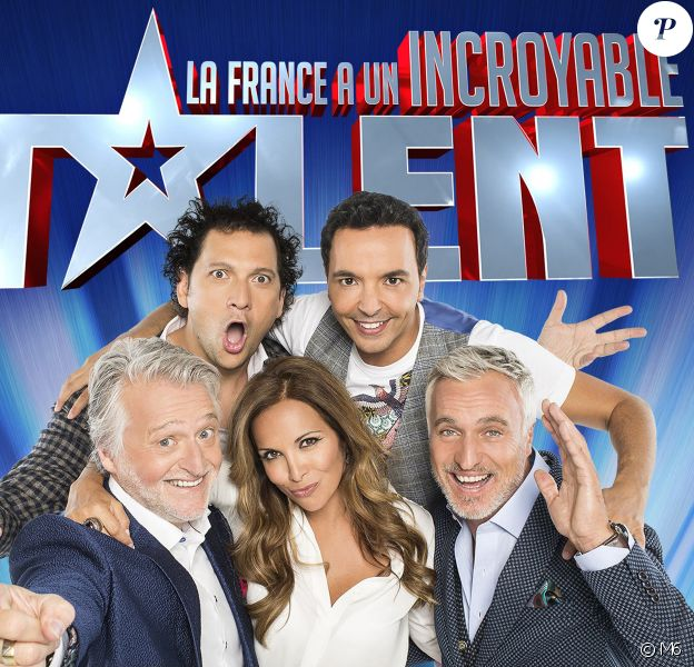 """Logo de """"La France a un incroyable talent"""" sur M6."""
