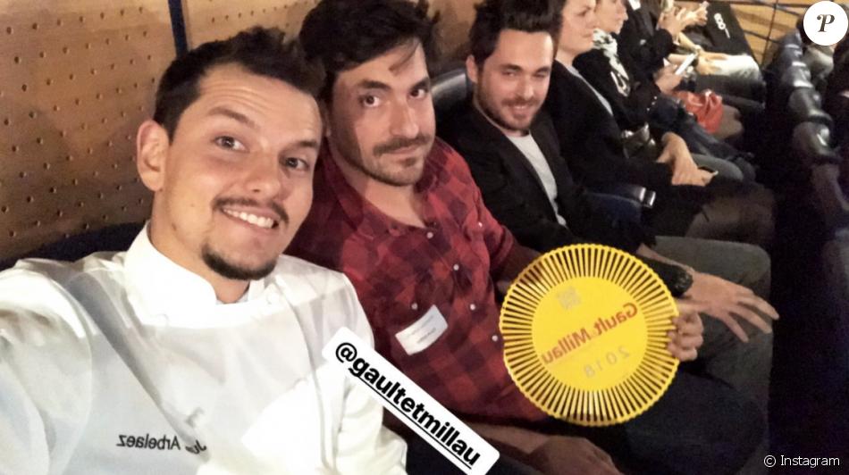"""Juan Arbelaez a été récompensé par le """"Gault-et-Millau 2018"""" pour le restaurant """"Yaya"""" situé à Saint-Ouen. Novembre 2017."""