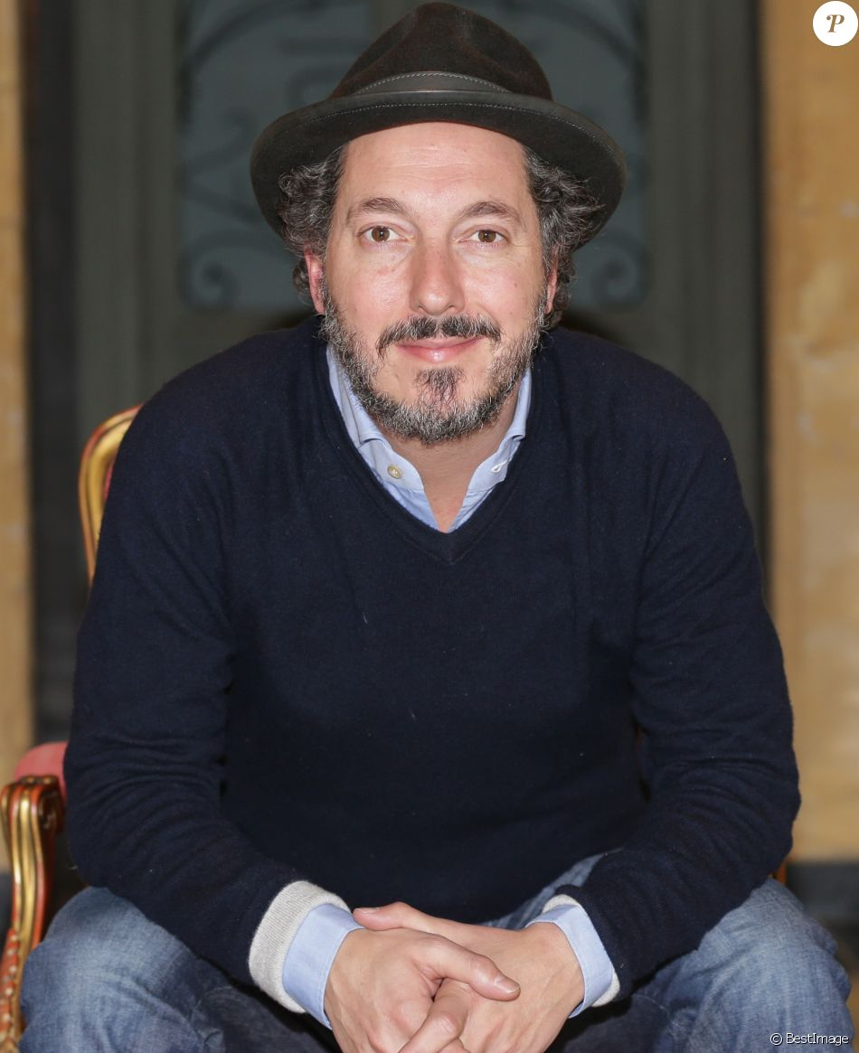 """Exclusif - Guillaume Gallienne en conférence de presse pour le film """"Maryline"""" à Lille, le 5 novembre 2017. © Stéphane Vansteenkiste/Bestimage"""