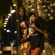 Exclusive - Kylie Jenner et Travis Scott à Miami, le 7 mai 2017.
