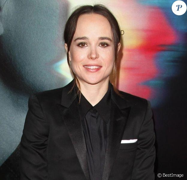 Ellen Page à la première de 'Flatliners' à l'hôtel Ace à Los Angeles, le 27 septembre 2017
