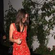 Emily Ratajkowski - Exclusif - People arrivent au restaurant The Highlight Room pour célébrer l'anniversaire de L.DiCaprio à Hollywood, le 11 novembre 2017.