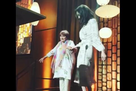 Angelina Jolie danse avec Agnès Varda, reine d'Hollywood et oscarisée à 89 ans