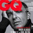 """Nikos Aliagas élu """"homme de l'année 2017"""" par le magazine """"GQ""""."""
