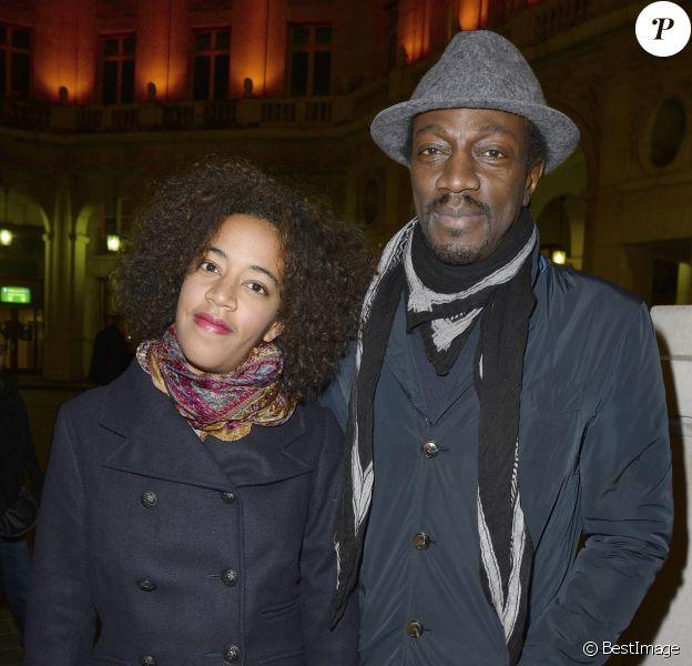 """Marco Prince et sa fille Lola - Générale de la pièce """"La porte à côté"""" au Théâtre Édouard VII à Paris, le 10 fevrier 2014."""