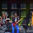 """Marco Prince et Yarol Poupaud du groupe FFF - Concert de charité """"Printemps Solidaire"""" sur la Place de la Concorde à Paris le 17 septembre 2017. © Giancarlo Gorassini/Bestimage"""