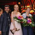 Fatih Akin, Diane Kruger - Cérémonie des Bambi Awards 2017 à Berlin. Le 16 novembre 2017.
