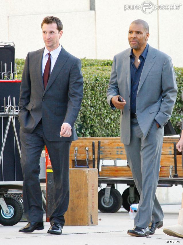 Eriq La Salle et Noah Wyle se retrouvent sur le tournage des dernières scènes d'Urgences...