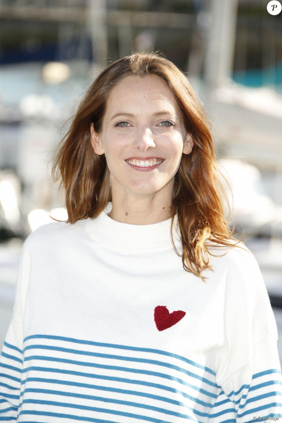 Elodie Varlet de la série CUT - Photocall lors du 19e Festival de la Fiction TV de La Rochelle. Septembre 2017.