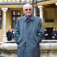 Charles Aznavour- 157ème vente aux enchères des vins des Hospices de Beaune à Beaune le 19 novembre 2017. © Giancarlo Gorassini/Bestimage