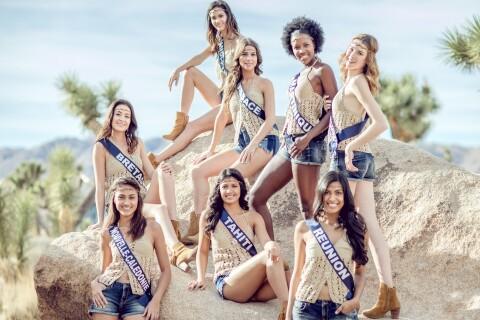 Miss France 2018 : Aventurières glamour à Joshua Tree après une matinée sportive