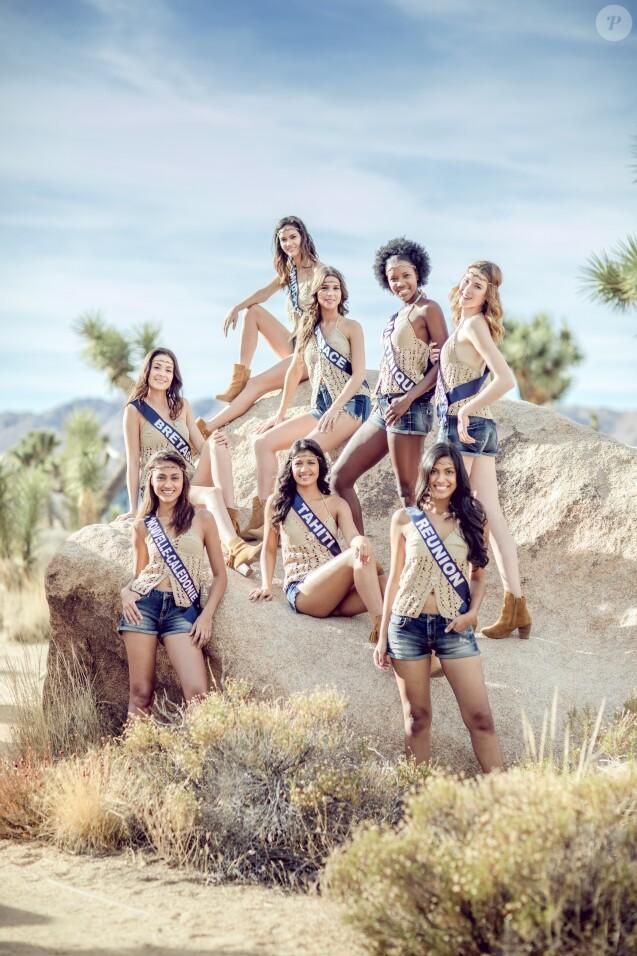 Les Miss découvrent le parc national Joshua Tree, le 21 novembre 2017 en Californie.
