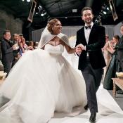 Serena Williams : Son impressionnante bague de mariage dévoilée