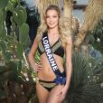 Miss Lorraine en maillot de bain lors du voyage Miss France 2018 en Californie, en novembre 2017.