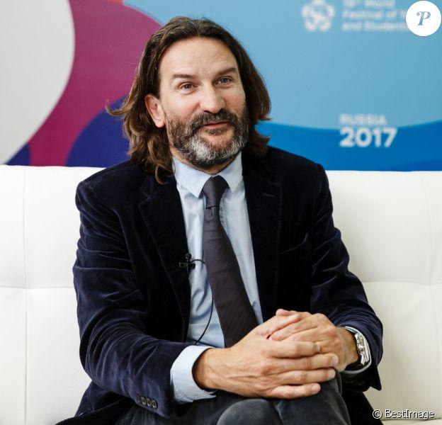 Frédéric Beigbeder au festival mondial de la jeunesse et des étudiants à Sotchi, Russie, le 17 octobre 2017.