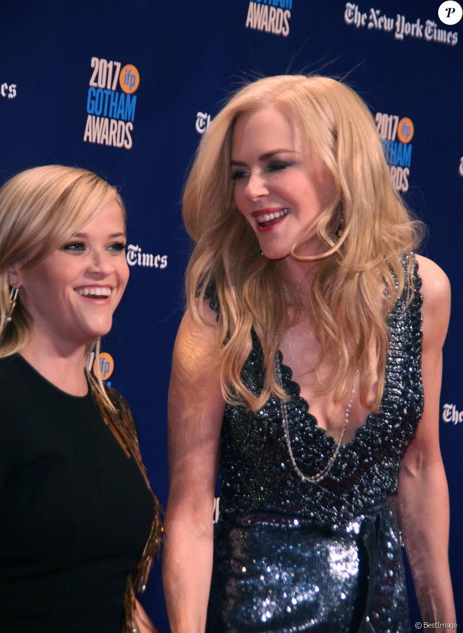Reese Witherspoon, Nicole Kidman - 27ème soirée annuelle des Gotham Independent Film Awards à New York City, New York, Etats-Unis, le 27 novembre 2017.