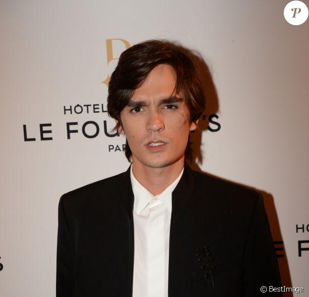 Alain-Fabien Delon - Soirée d'inauguration de l'Hôtel Fouquet's Barrière à Paris le 14 septembre 2017. © Rachid Bellak/Bestimage