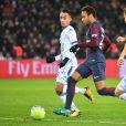 Neymar Jr. - Match de footbal PSG - Troyes au Parc des Princes à Paris le 29 novembre 2017.
