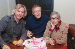 Anémone, entourée d'Hervé Vilard et Yoann Fréget, pour ses 50 ans de carrière