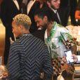 """Jaden Smith et Miguel - Gala caritatif """"An Evening Honoring..."""" consacrée à Nicolas Ghesquière à l'Alice Tully Hall, au Lincoln Center. New York, le 30 novembre 2017."""