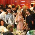 """Sophie Turner et Michelle Williams - Gala caritatif """"An Evening Honoring..."""" consacrée à Nicolas Ghesquière à l'Alice Tully Hall, au Lincoln Center. New York, le 30 novembre 2017."""