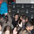 Exclusif - Richard Orlinski - Cocktail d'inauguration de la première galerie Pop Art Concept store entièrement dédié aux oeuvres de Richard Orlinski à Paris, le 23 novembre 2017. © Tiziano da Silva/Bestimage